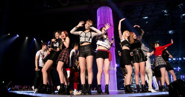 写真/両日、盛り上がりを見せた『KCON 2016 Japan × M COUNTDOWN』(C)CJ E&M Corporation, all rights reserved