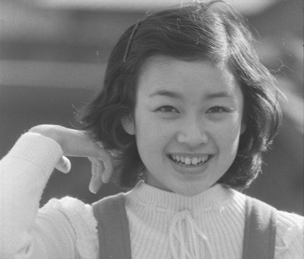 『ひまわり娘』でデビュー1年後、昭和50年当時の伊藤