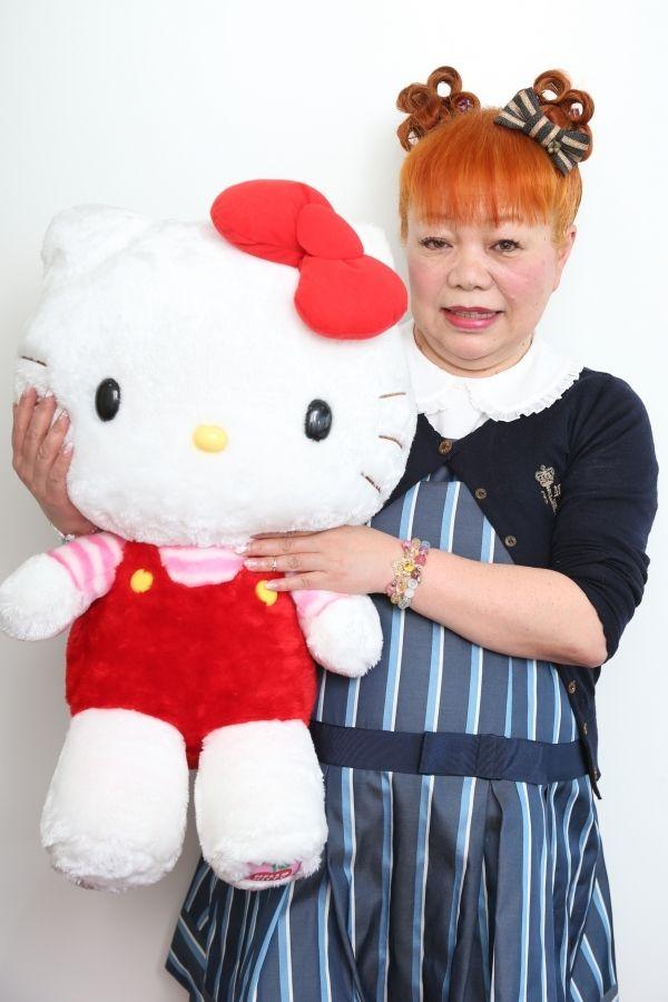 ハローキティ3代目デザイナー、山口裕子さん(C)週刊女性