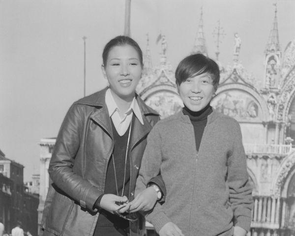 昭和45年当時、和田アキ子とのツーショット