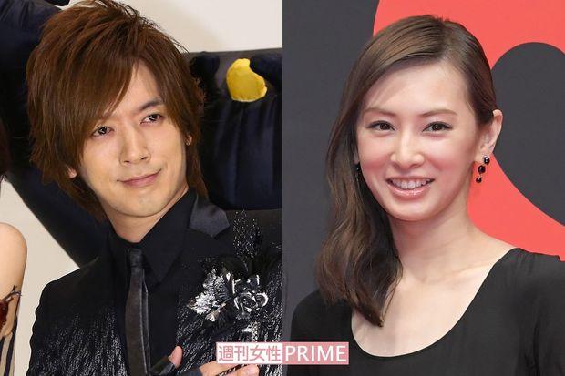 DAIGOさんと婚約時の北川景子さん
