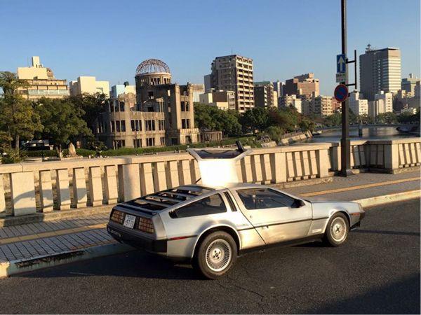 【写真】大好きなこの場所、広島市相生橋で10月21日16時29分を藤井氏は迎えた(写真提供/藤井智康)